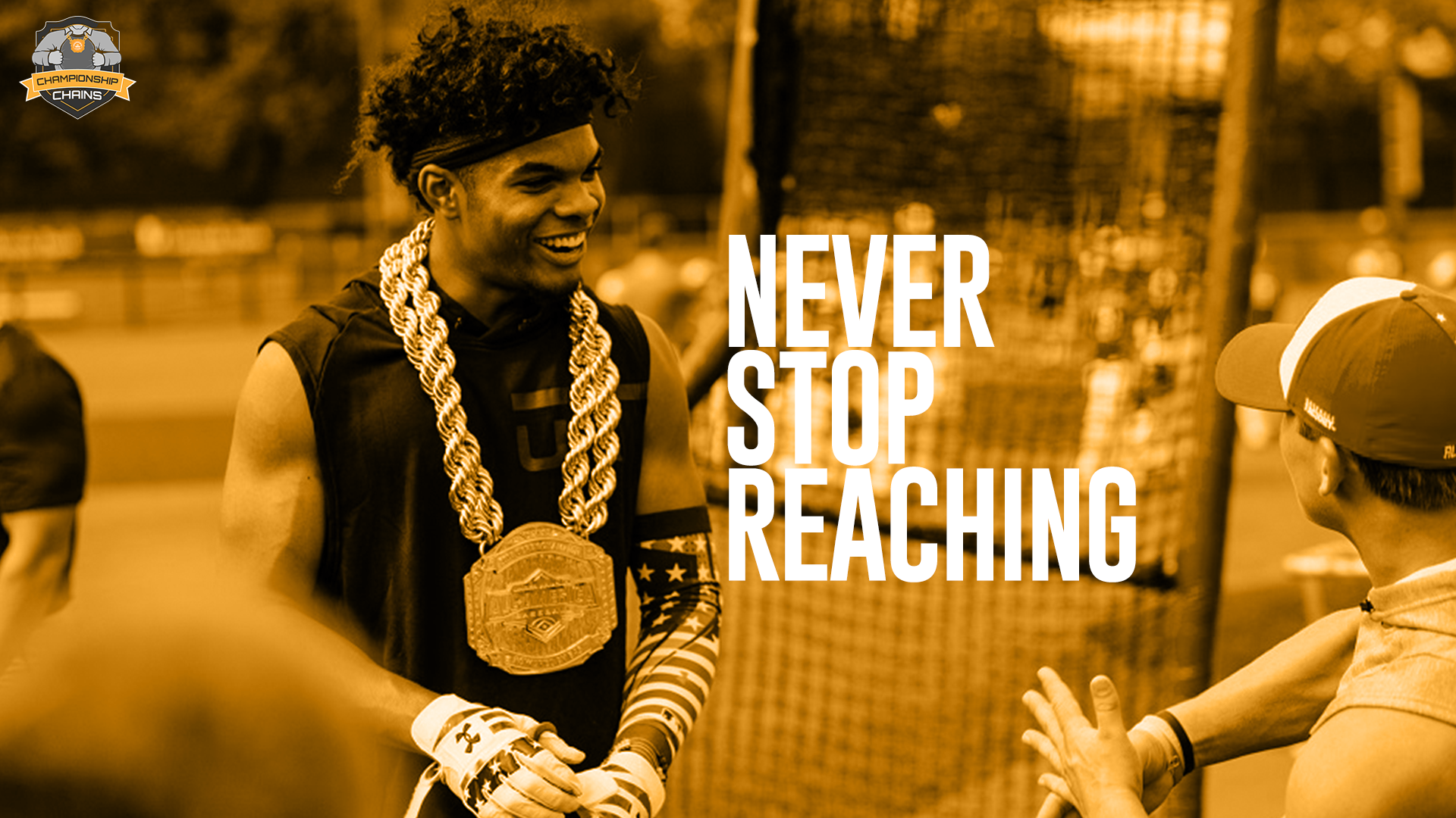 Never Stop Reaching